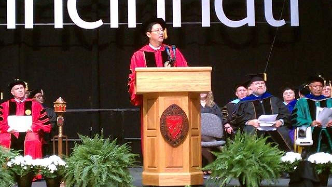 UC president Santa Ono may be heading home