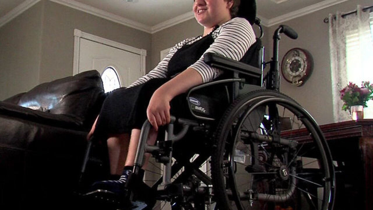 Disabled girl denied class trip to Disneyland