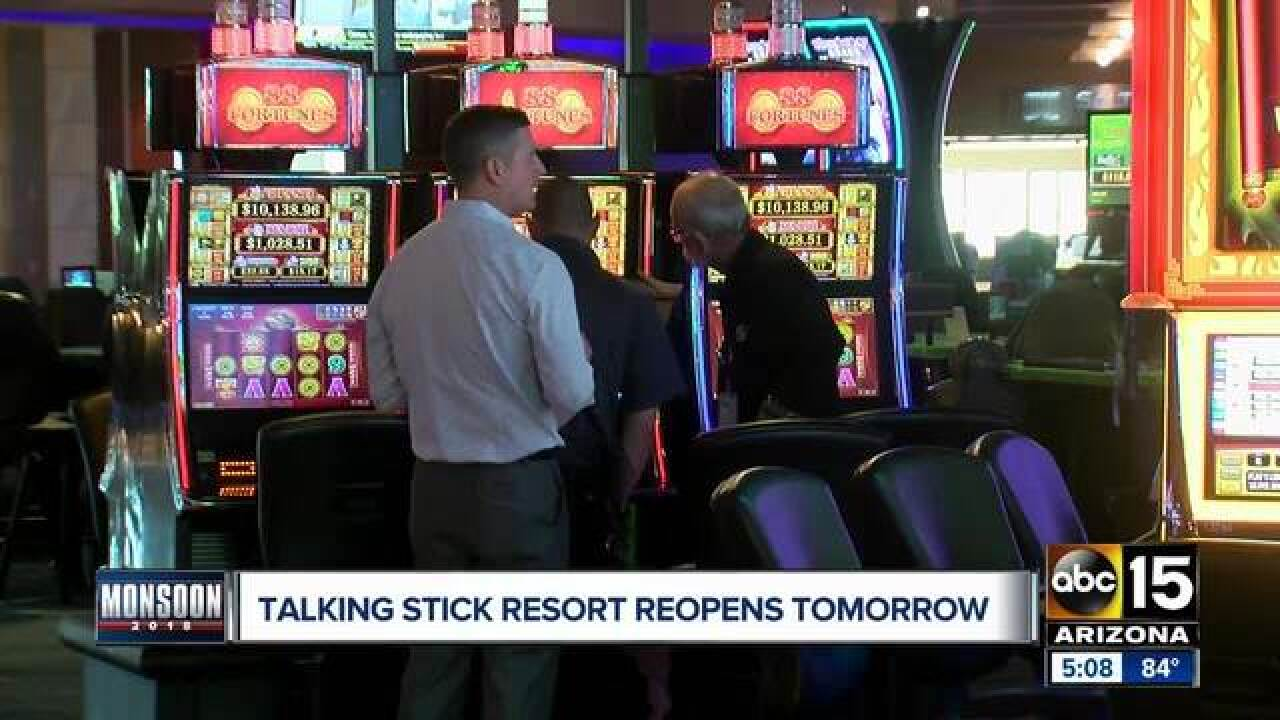 Talking Stick Resort to reopen September 24