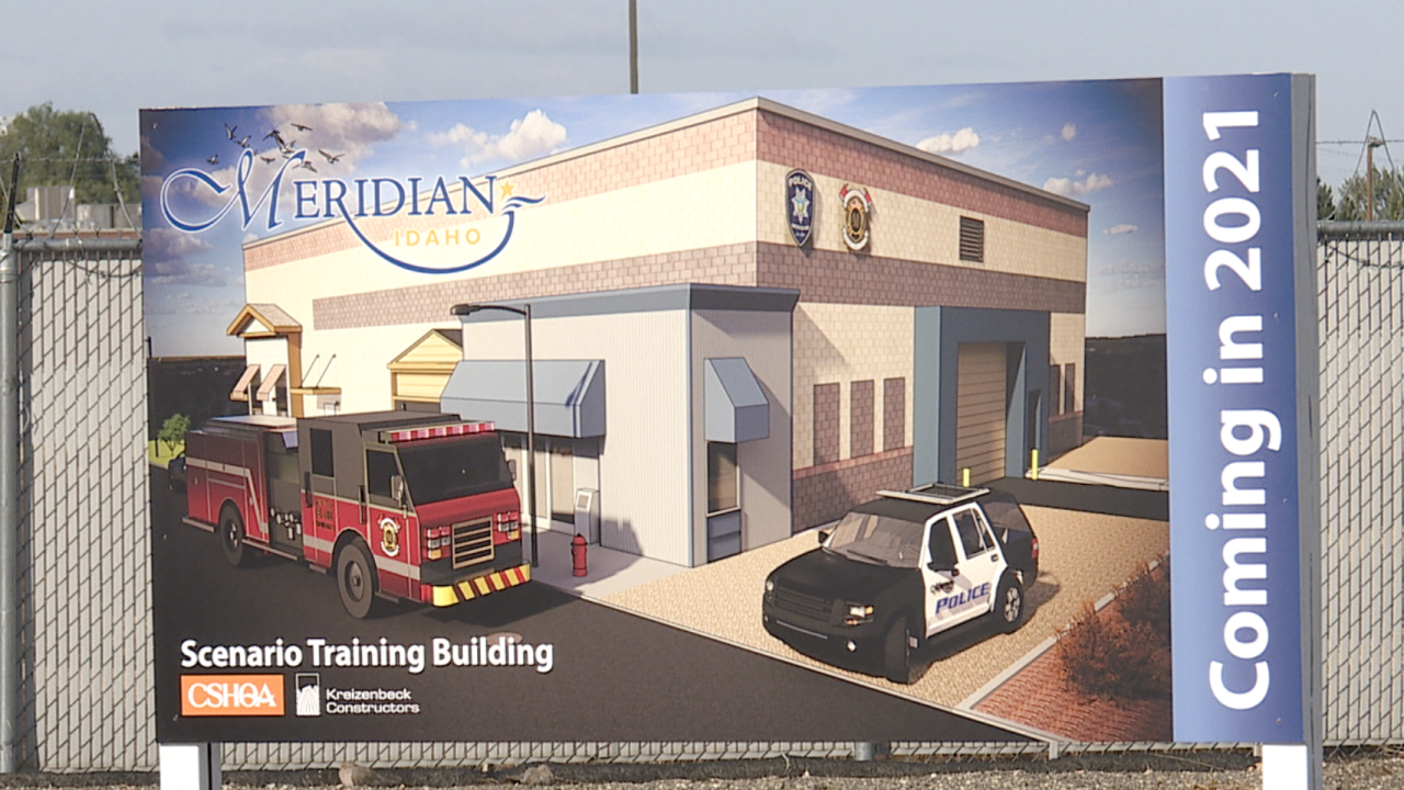 Meridian officials break ground on future training site for first responders