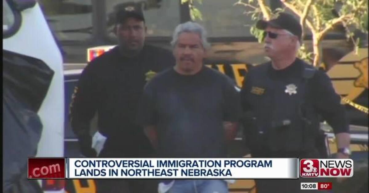 Controversial immigration enforcement program partners