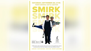 Smirk will be featured Saturday at Texas A&M-Corpus Christi