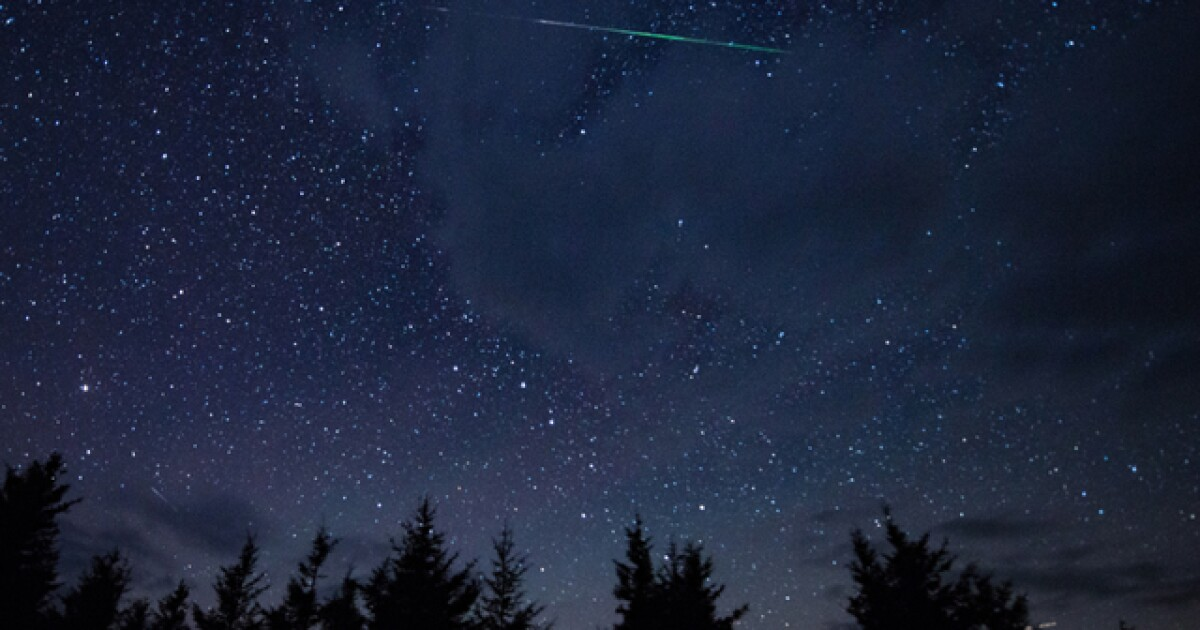 First major meteor shower of 2020 expected to happen tonight