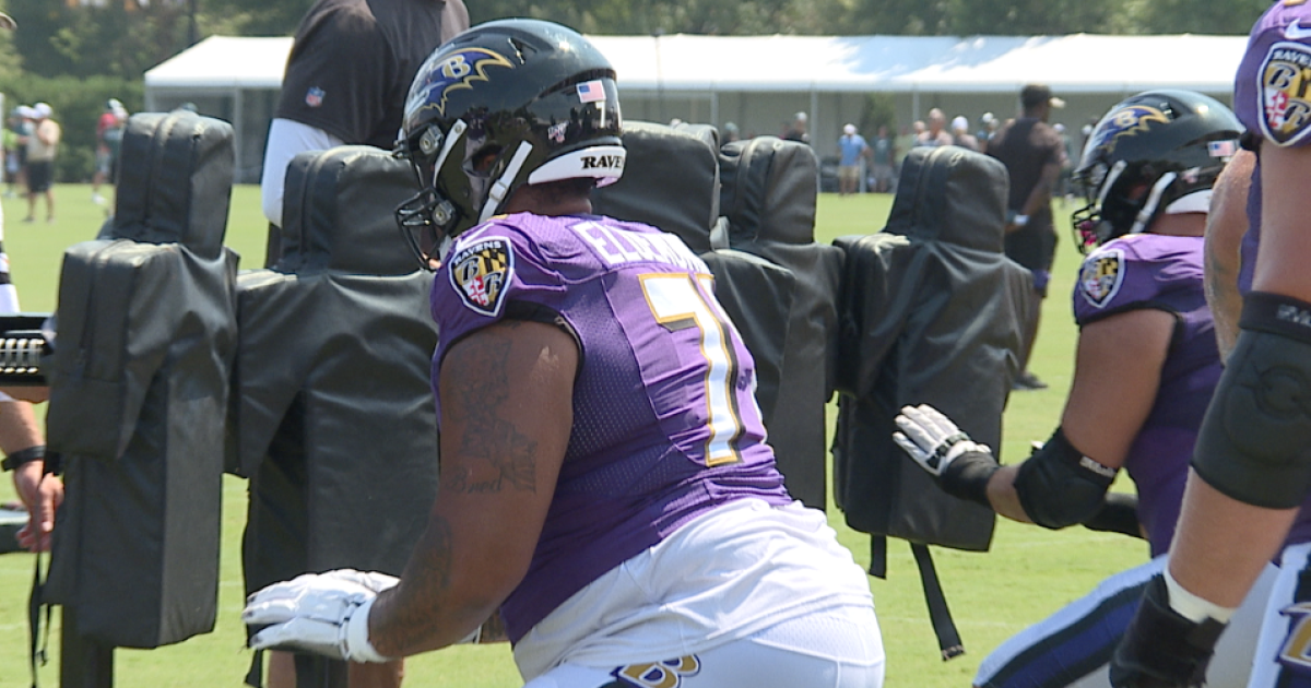 Ravens practice in Philly, three starters injured