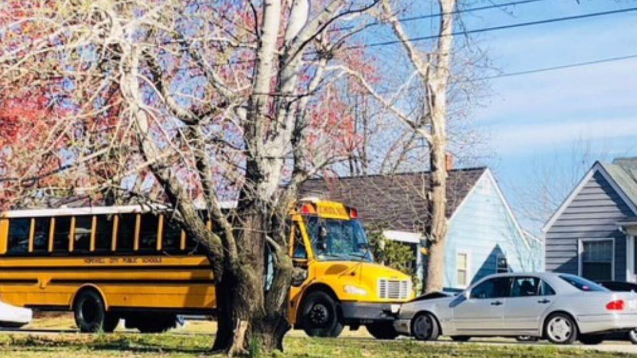 Teen driver cited in head-on school buscrash