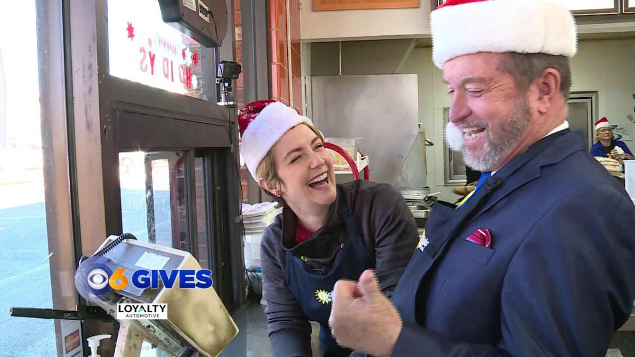 There is such a thing as a free lunch during the CBS 6 Month ofGiving