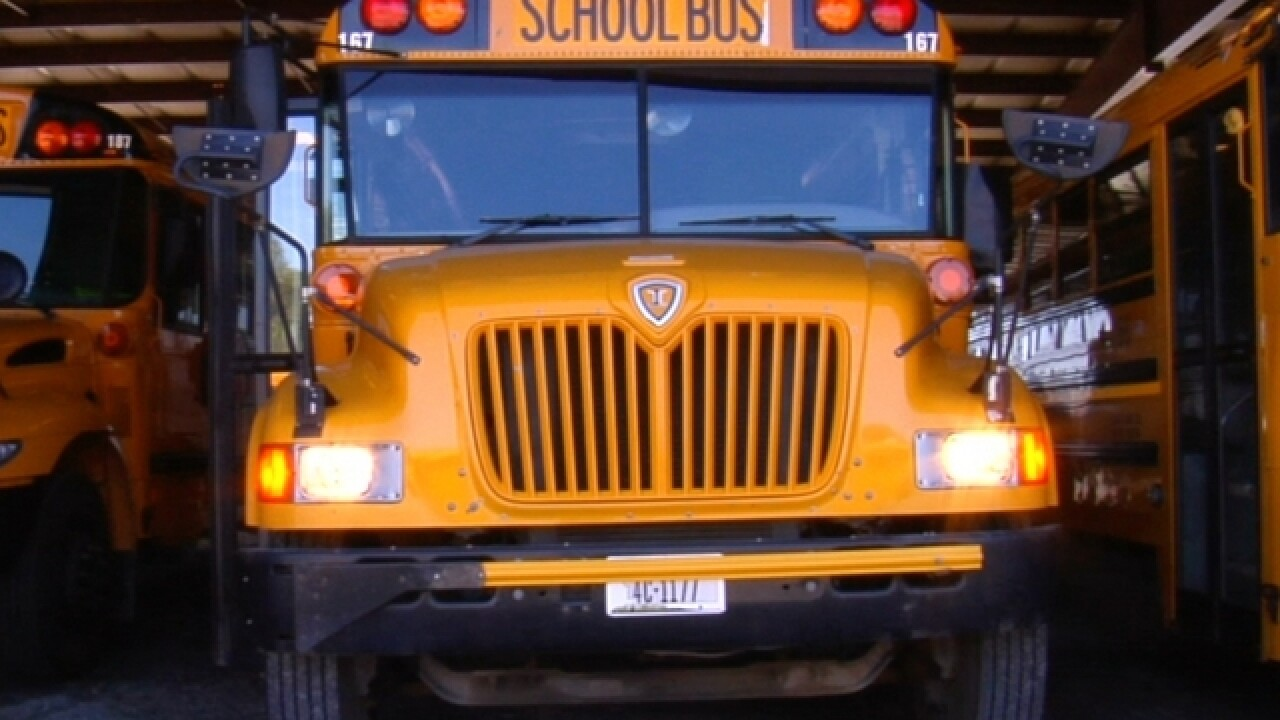 School bus driver fired for not opening windows