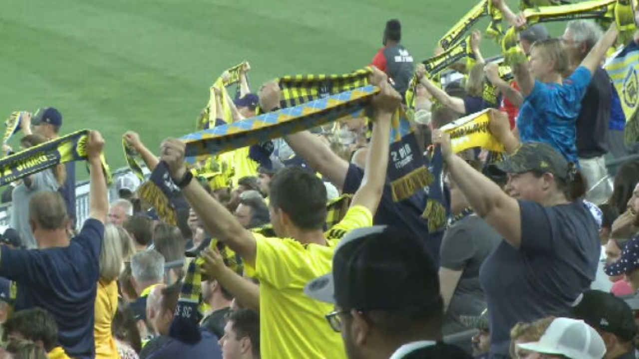 Nashville SC wins first home game in more than a year