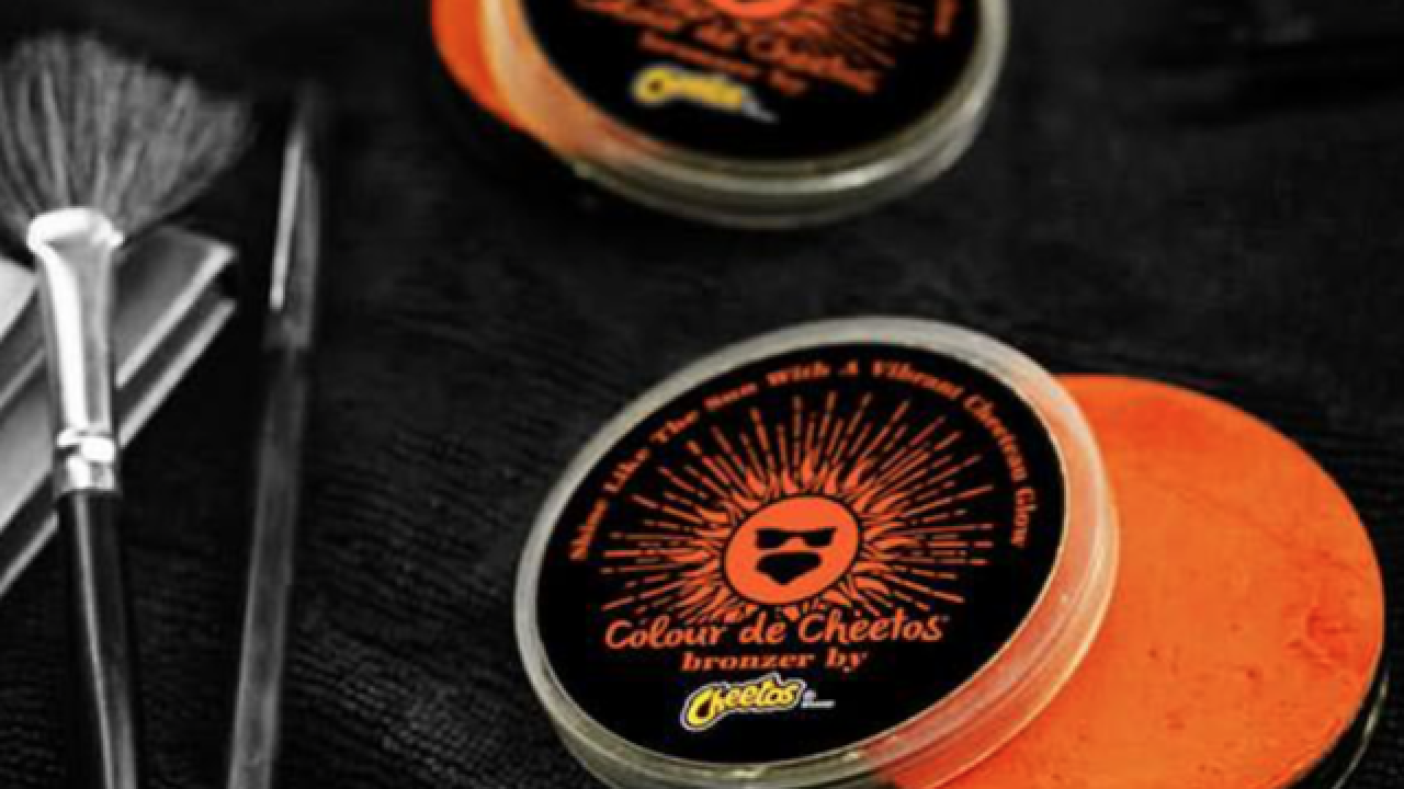 Would you wear Cheetos cosmetics?