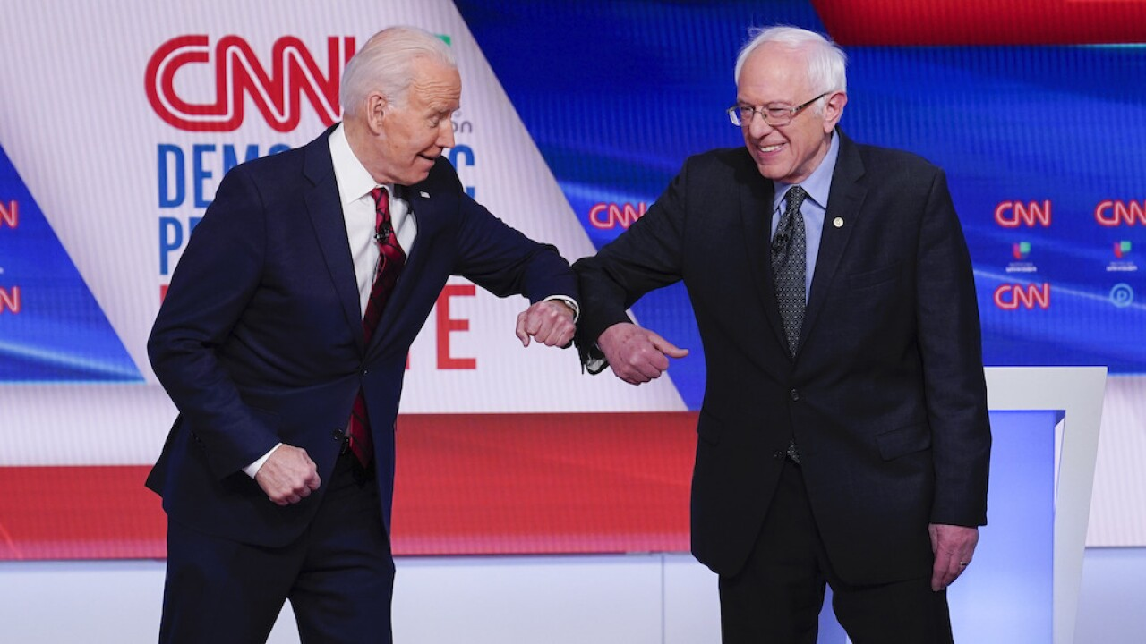 Sen. Bernie Sanders formally endorses Joe Biden during 'unity' livestream