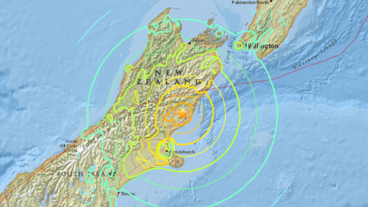 2 dead in New Zealand from powerful earthquake