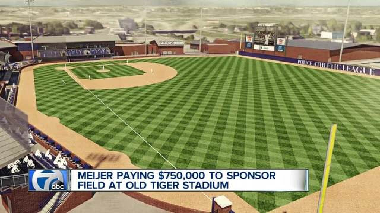 Meijer donates $750K to PAL for Tiger Stadium