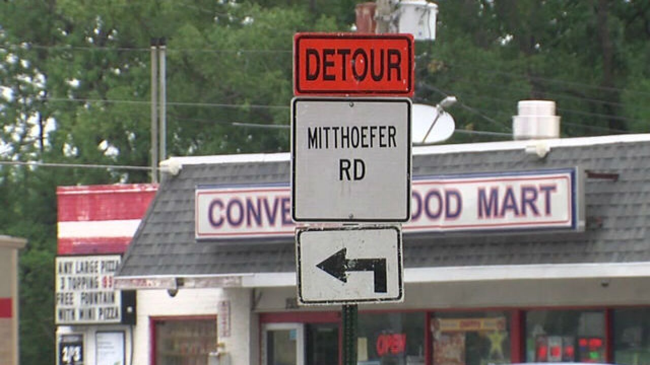 Mitthoeffer Road to close on Indy's NE side