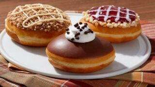 Krispy Kreme Just Rolled Out Pie-themed Doughnuts For Thanksgiving