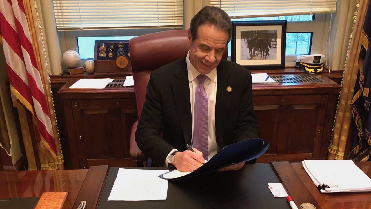 Cuomo Signs Bill To Guarantee Sick Leave For New Yorkers During