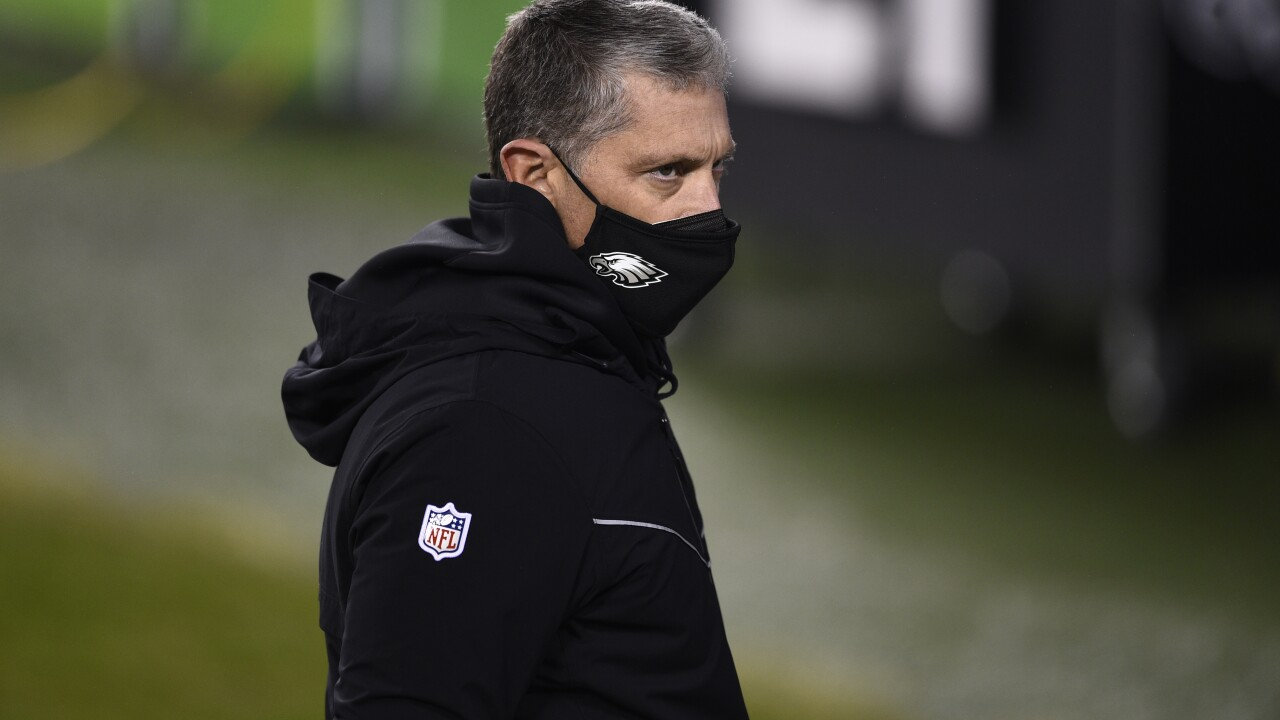Jim Schwartz Washington Eagles Football