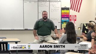 Excellence in Education – Aaron Smith