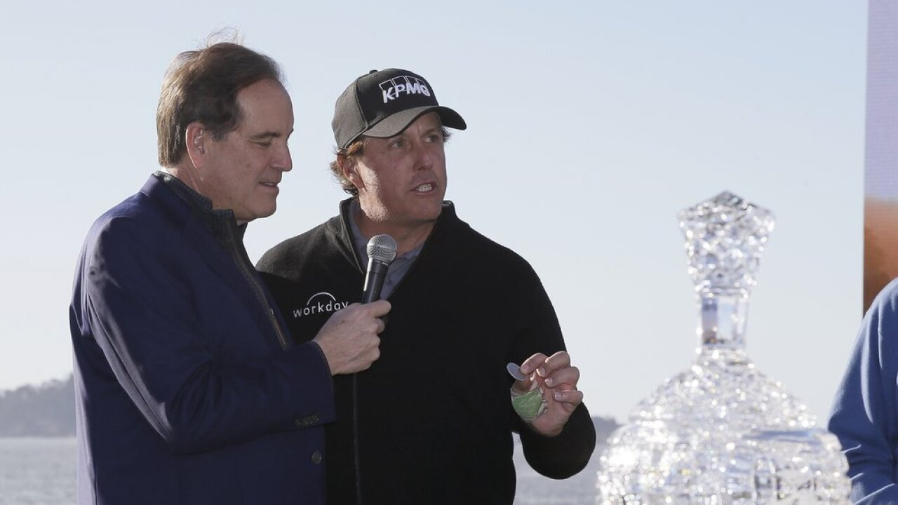 Jim Nantz Phil Mickelson