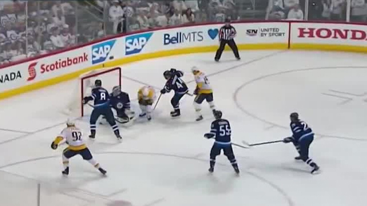 Predators Respond With 2-1 Win In Game 4