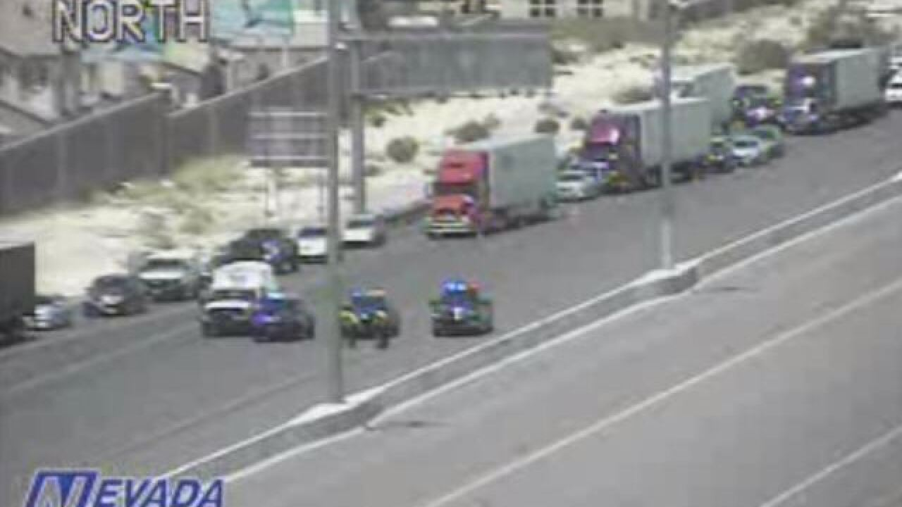 UPDATE: I-15 reopens after bomb threat near St. Rose Parkway