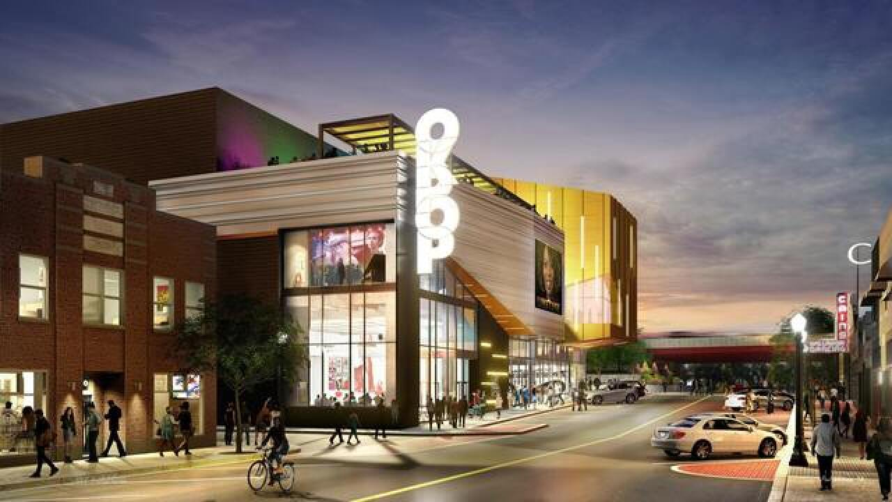 Oklahoma Historical Society unveils rendering of Oklahoma Museum of Pop Culture