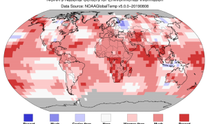 July 2019 was the hottest July on record, according to NOAA