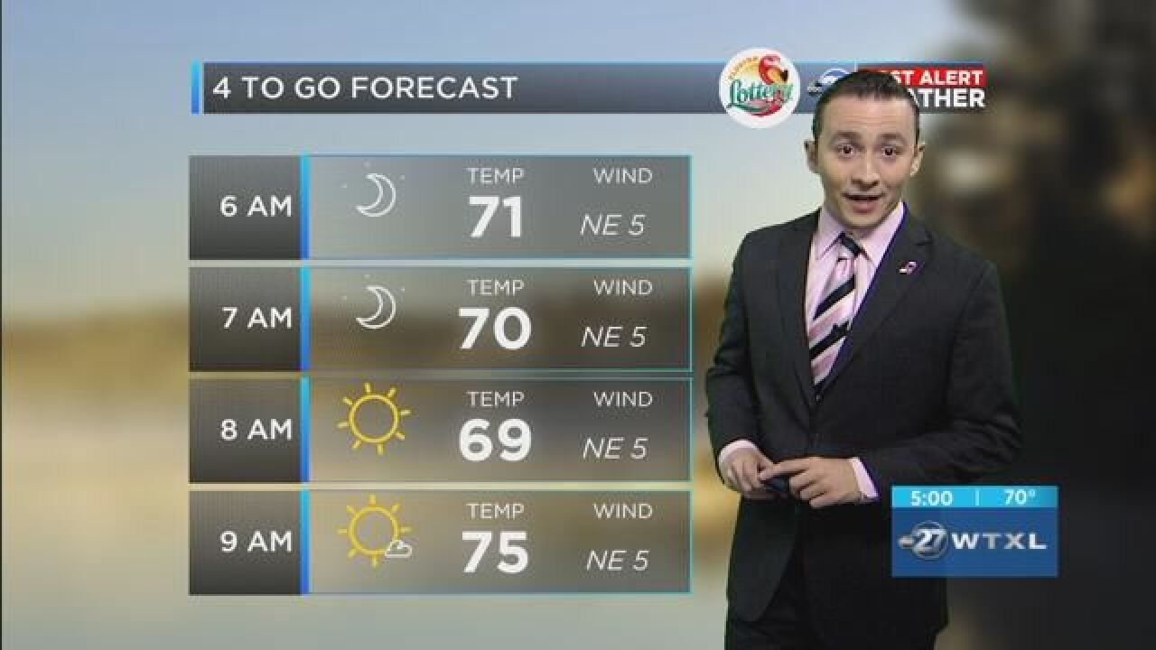 First Alert 4-to-Go Forecast: Oct. 4, 2018