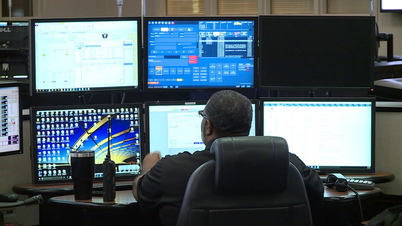 'It's all hands-on deck:' A look inside the city's 911 communicationcenter