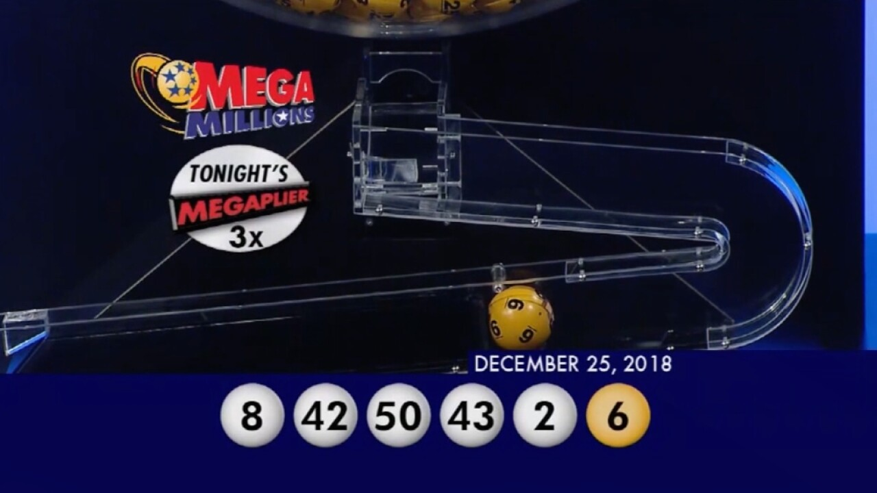 370m Mega Millions Winning Numbers For Friday December 28 2018
