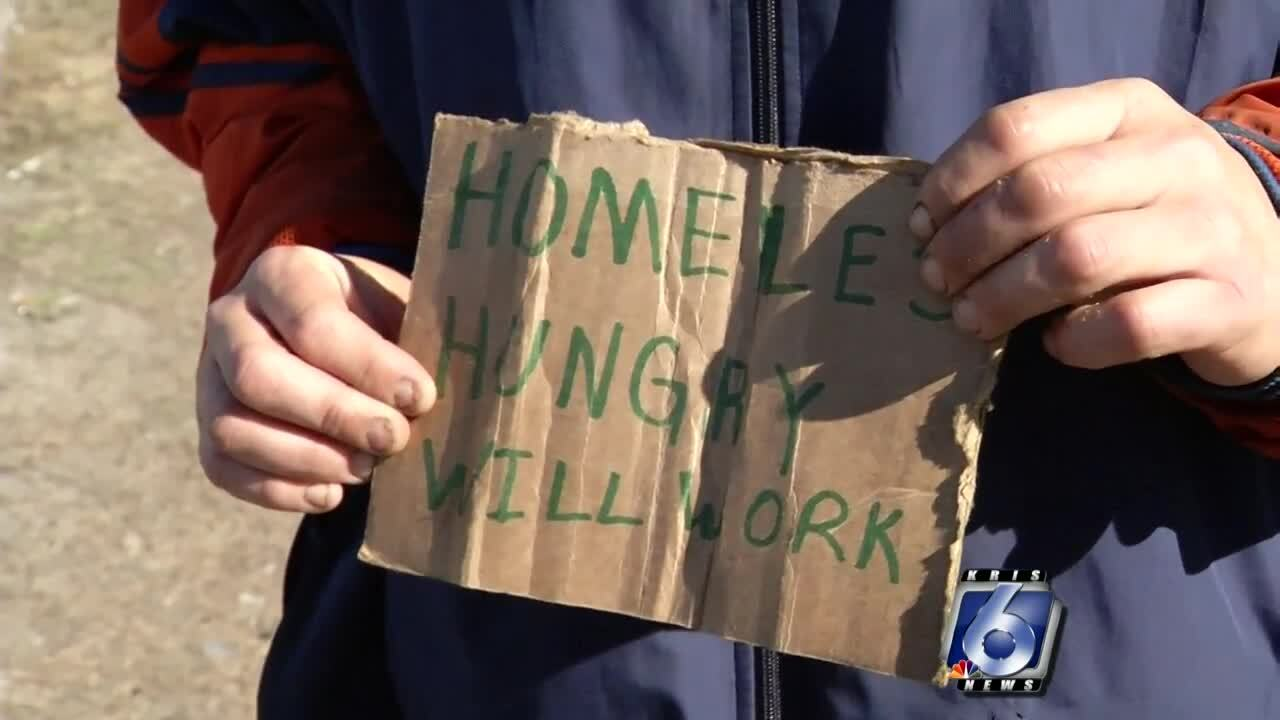 What is aggressive panhandling