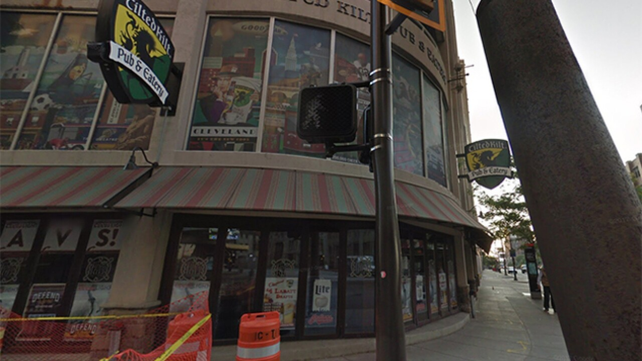 Tilted Kilt Pub and Eatery has closed its door in downtown Cleveland