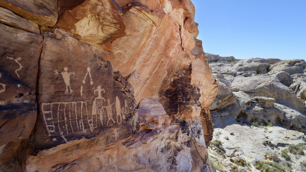 Gold Butte now National Monument