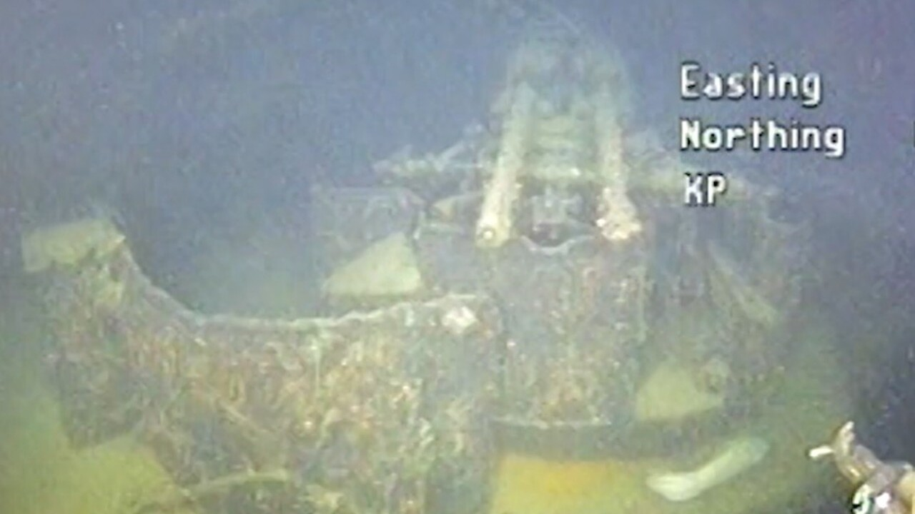 Wreckage of German warship found off Norway 80 years after being sunk in WWII