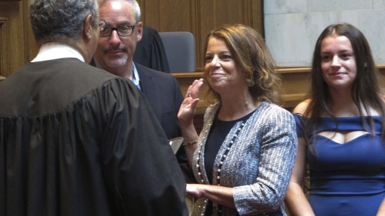 Wisconsin Supreme Court Justice Dallet sworn in