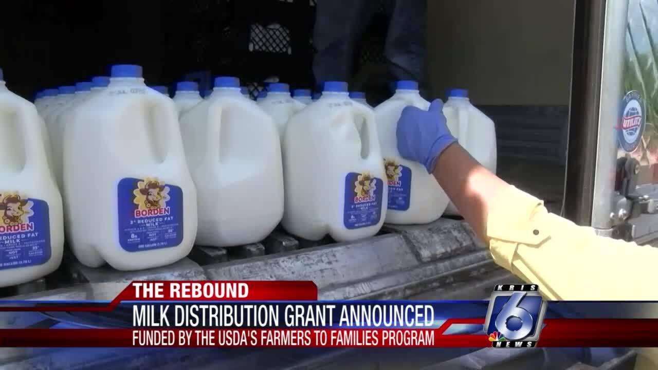 Milk distribution grant