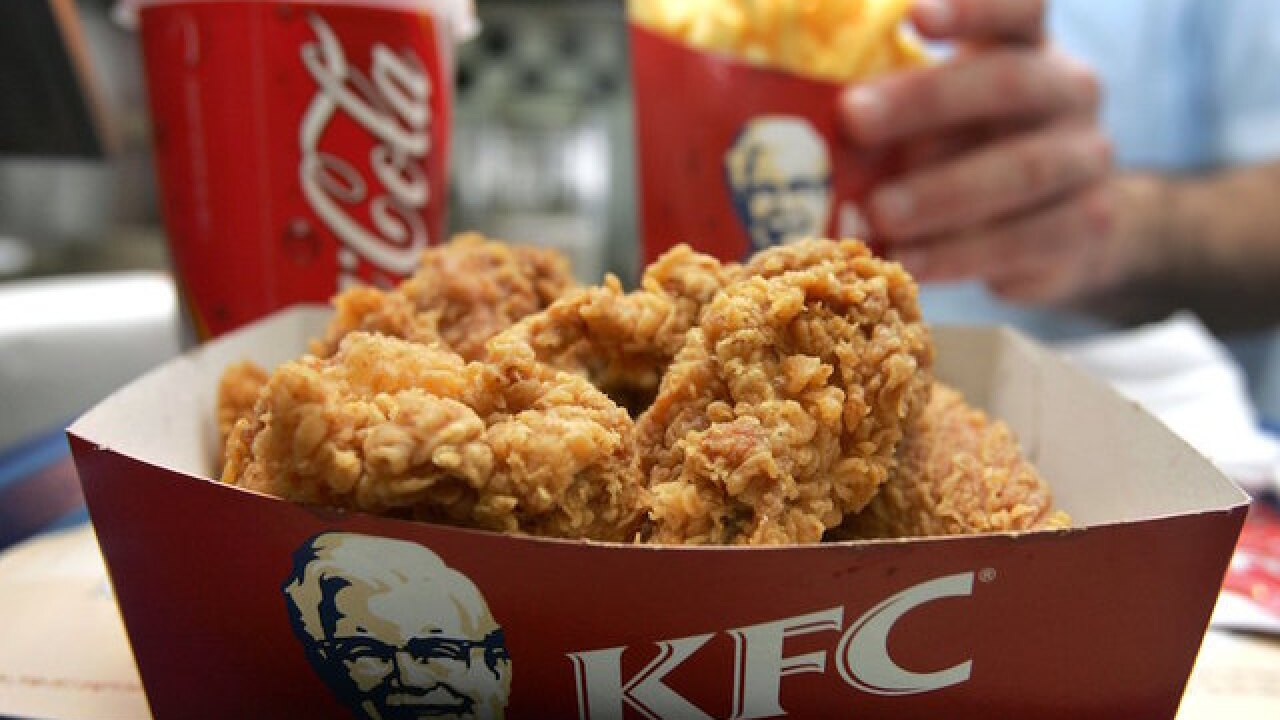 KFC launches edible nail polish