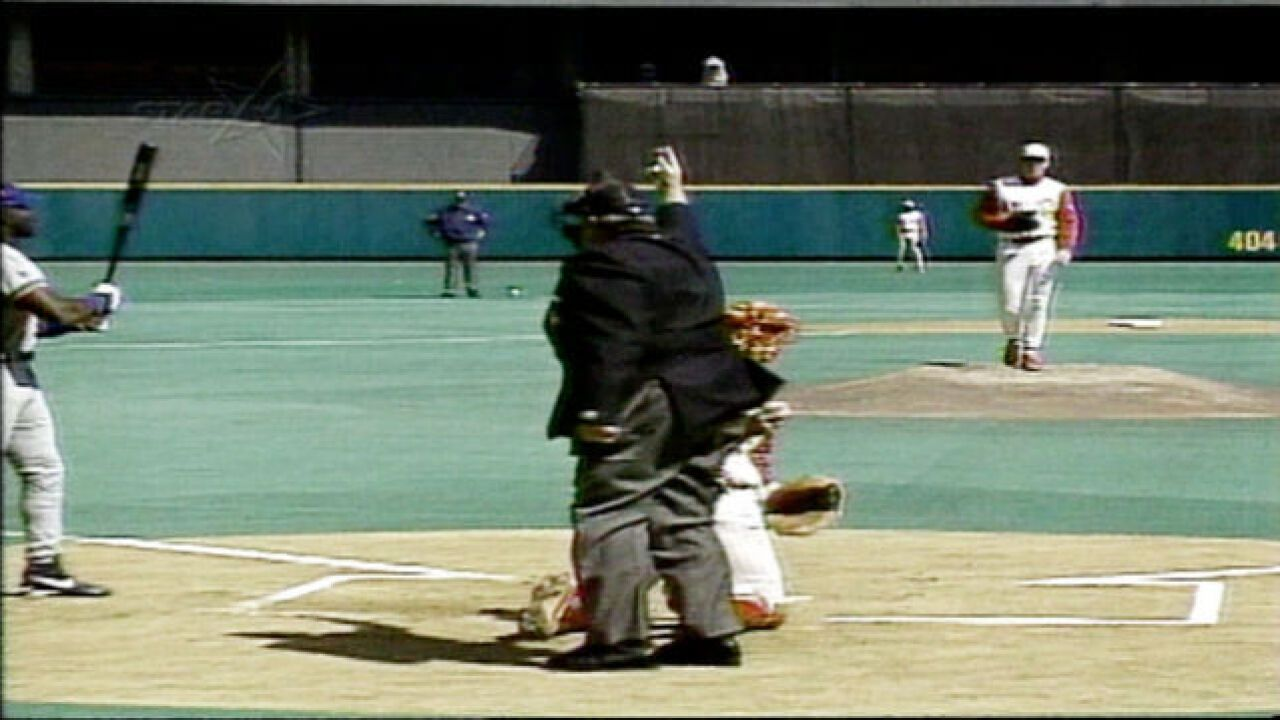 WATCH: Umpire dies on field on Opening Day