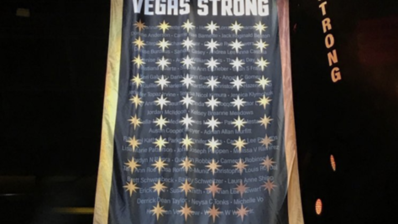Vegas Golden Knights honor 58 mass shooting victims before final regular game