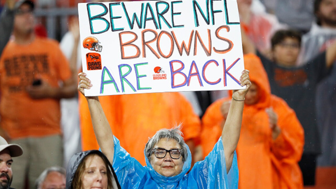 Browns fan