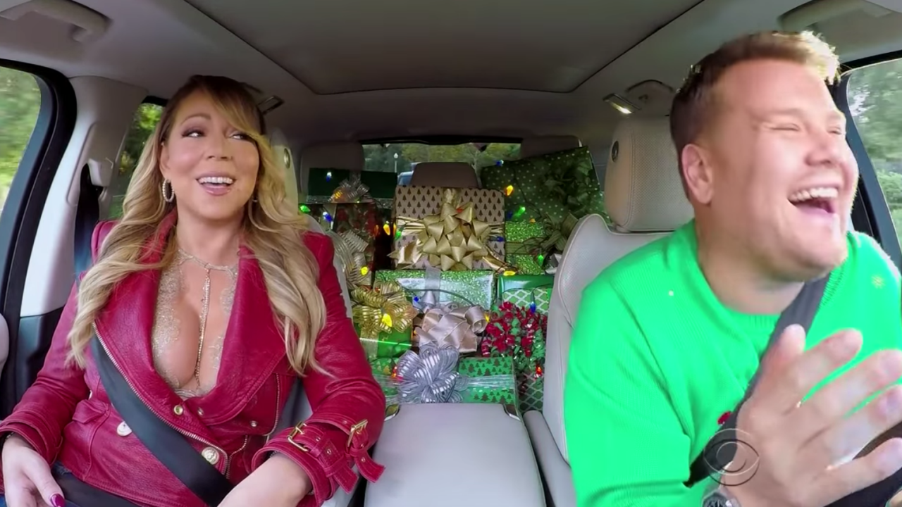 Mariah Carey sings 'All I Want For Christmas is You' in star-studded 'Carpool Karaoke'