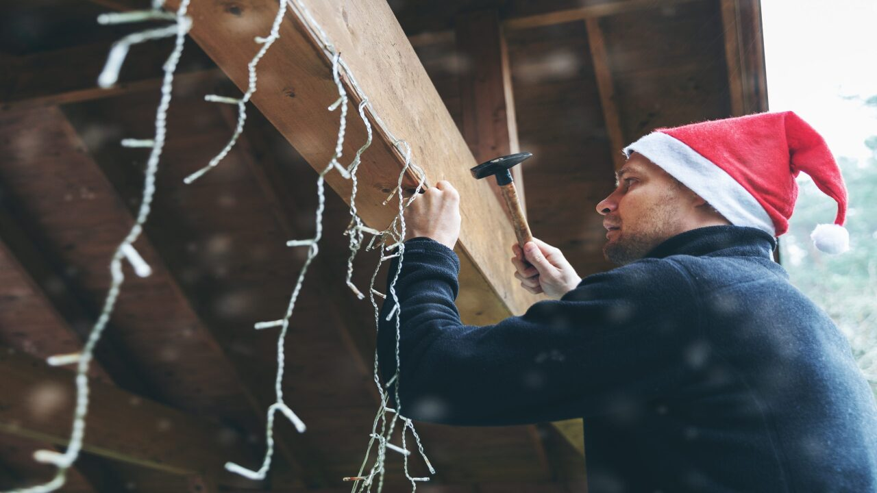 Walmart will deliver your Christmas tree and hang holiday lights on your house