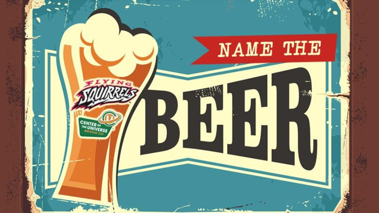 Richmond Flying Squirrels want you to name that beer
