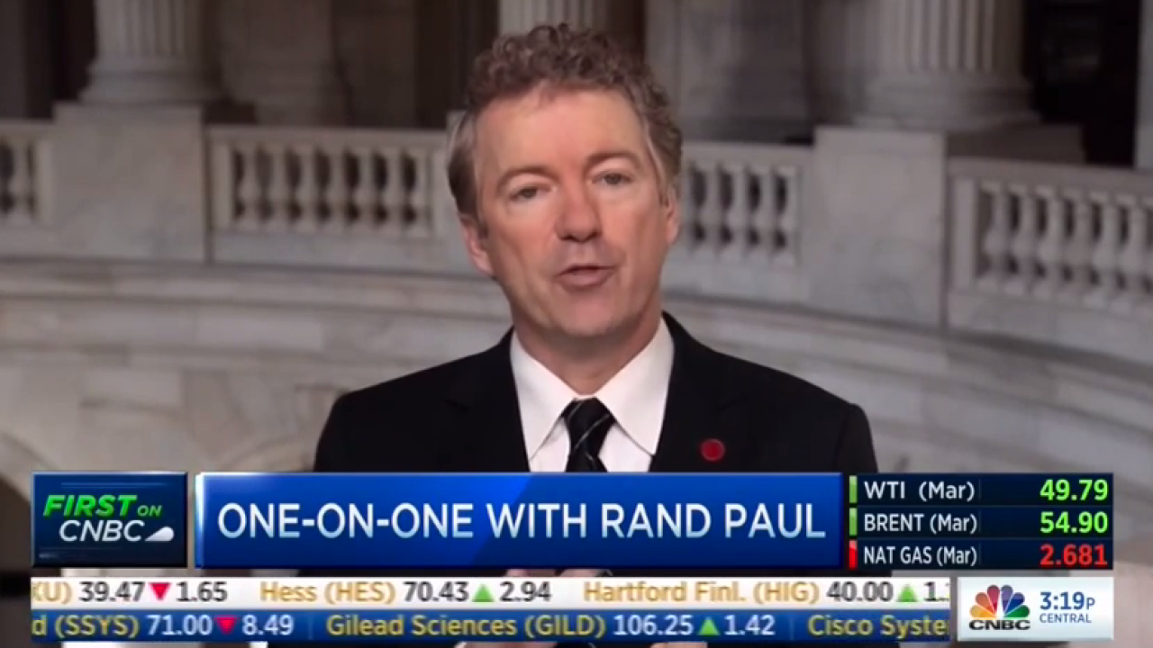 VIDEO: Rand Paul makes controversial claims supporting voluntary vaccinations