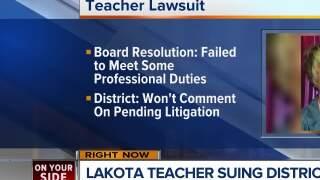 Lakota teacher sues school system over firing
