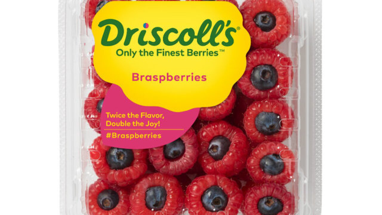 Braspberries: Northern California fruit company Driscoll's launches blueberry-raspberry combination