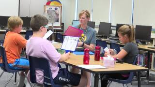"New Helena Middle School students enroll in ""Bob Camp"""