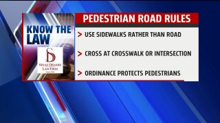 Know the Law – Pedestrian RoadRules