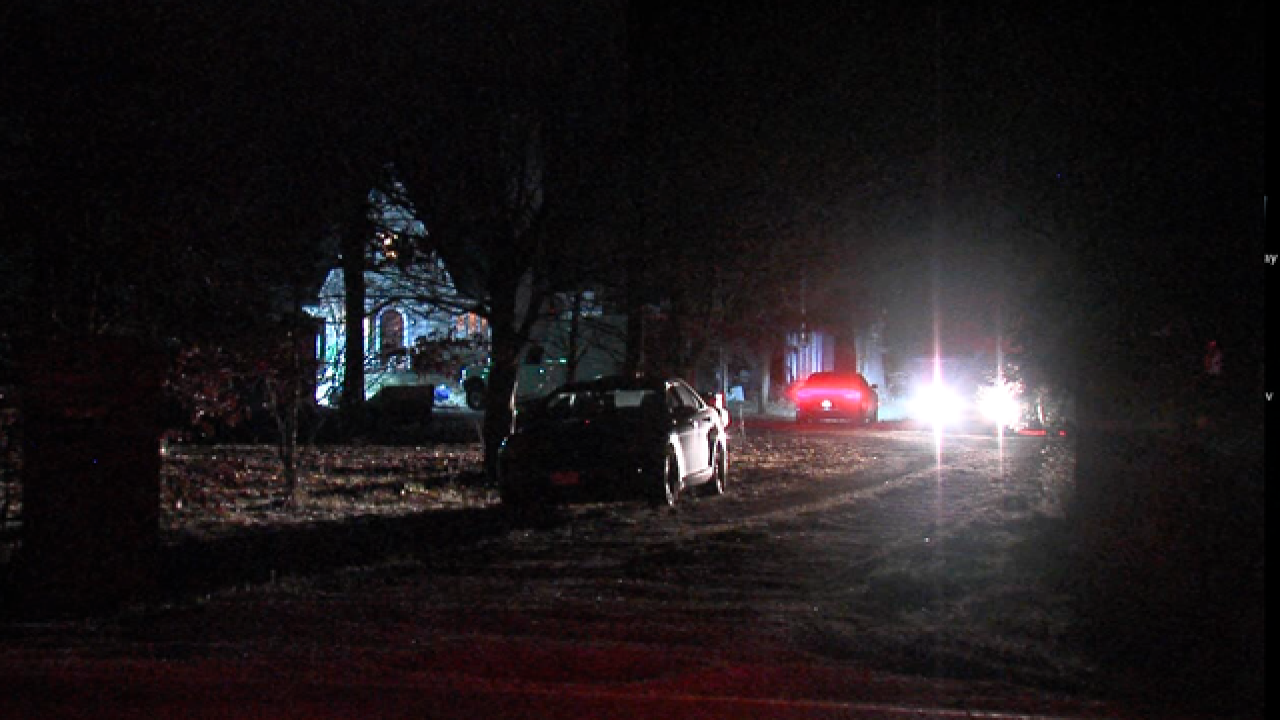 ISP serving search warrant at Delphi home