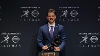 Joe_Burrow_Heisman Trophy Presentation