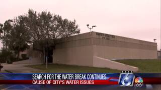 Search for local water break continues